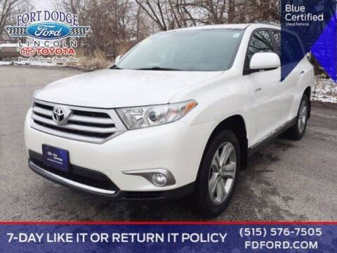 2013 Toyota Highlander for sale at Fort Dodge Ford Lincoln Toyota in Fort Dodge IA
