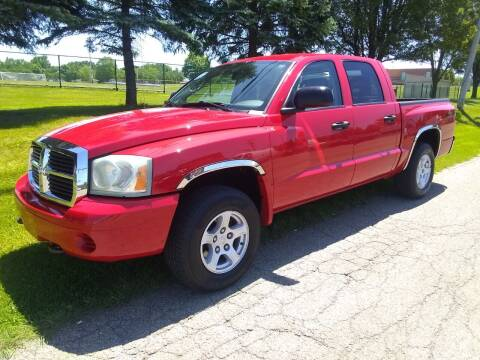 2007 Dodge Dakota for sale at Hern Motors - 111 Hubbard Youngstown Rd Lot in Hubbard OH