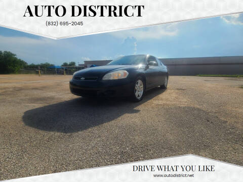 2007 Chevrolet Monte Carlo for sale at Auto District in Baytown TX