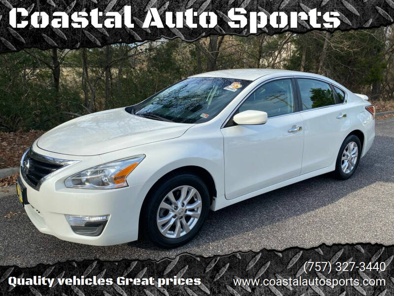 2014 Nissan Altima for sale at Coastal Auto Sports in Chesapeake VA