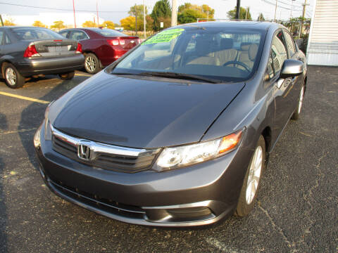 2012 Honda Civic for sale at Ringa Auto Sales in Arlington Heights IL