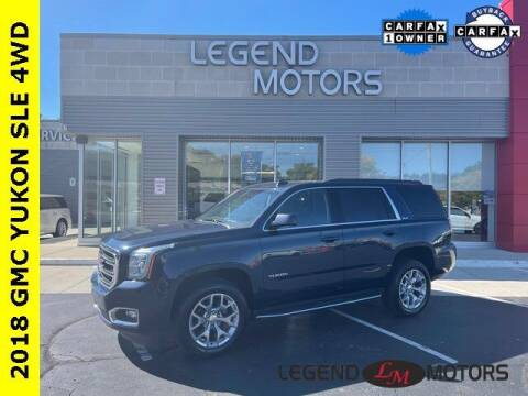 2018 GMC Yukon for sale at Legend Motors of Waterford in Waterford MI