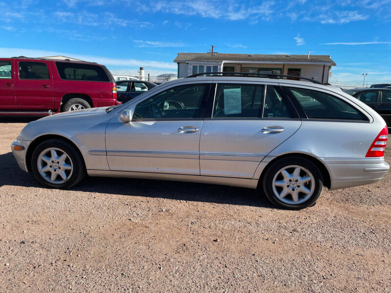2004 Mercedes-Benz C-Class for sale at PYRAMID MOTORS - Fountain Lot in Fountain CO