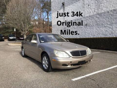 2002 Mercedes-Benz S-Class for sale at Select Auto in Smithtown NY