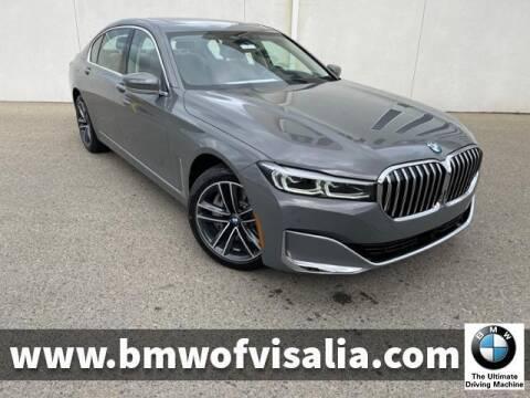 2021 BMW 7 Series for sale at BMW OF VISALIA in Visalia CA