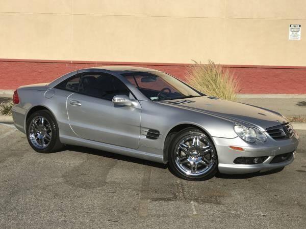 2003 Mercedes-Benz SL-Class for sale at CAR CITY SALES in La Crescenta CA