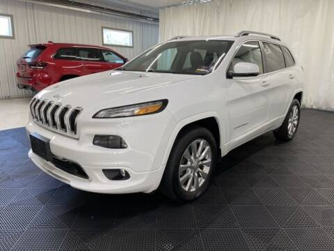2017 Jeep Cherokee for sale at Monster Motors in Michigan Center MI