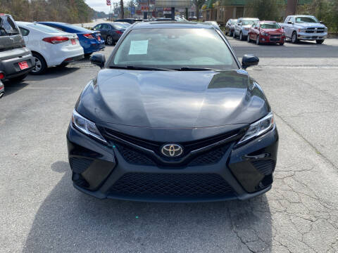 2018 Toyota Camry for sale at J Franklin Auto Sales in Macon GA