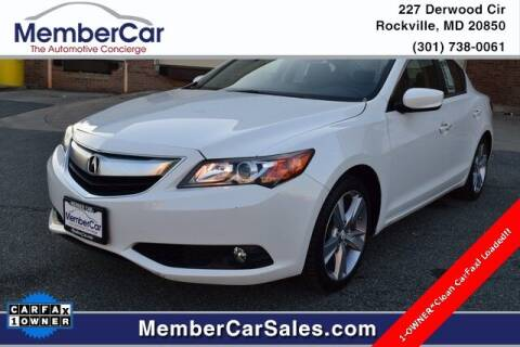 2014 Acura ILX for sale at MemberCar in Rockville MD