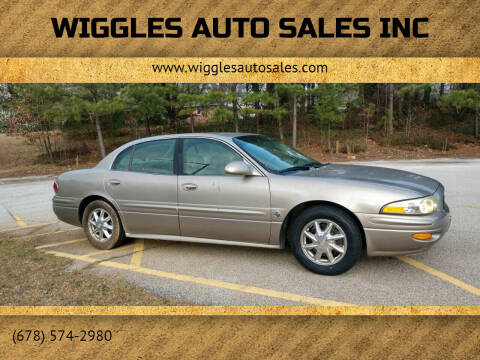 2003 Buick LeSabre for sale at WIGGLES AUTO SALES INC in Mableton GA
