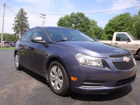 2014 Chevrolet Cruze for sale at Jay's Auto Sales Inc in Wadsworth OH