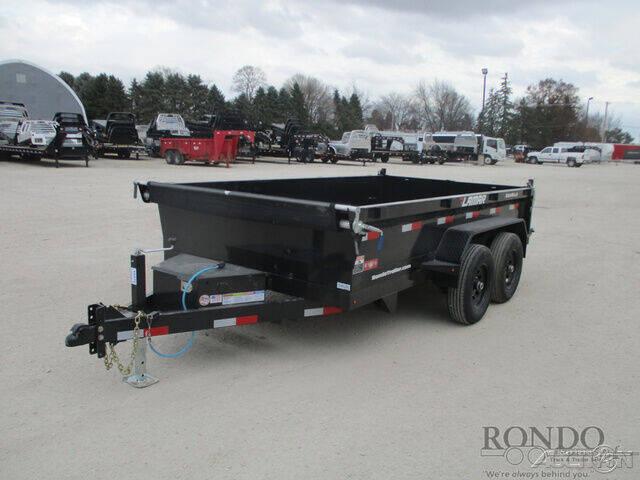 2021 Lamar Dump DM771225 for sale at Rondo Truck & Trailer in Sycamore IL