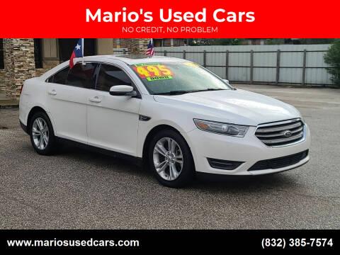 2013 Ford Taurus for sale at Mario's Used Cars - Pasadena Location in Pasadena TX