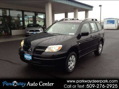 2006 Mitsubishi Outlander for sale at PARKWAY AUTO CENTER AND RV in Deer Park WA