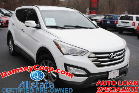 2013 Hyundai Santa Fe Sport for sale at Ramsey Corp. in West Milford NJ