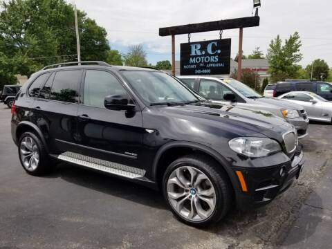 2012 BMW X5 for sale at R C Motors in Lunenburg MA