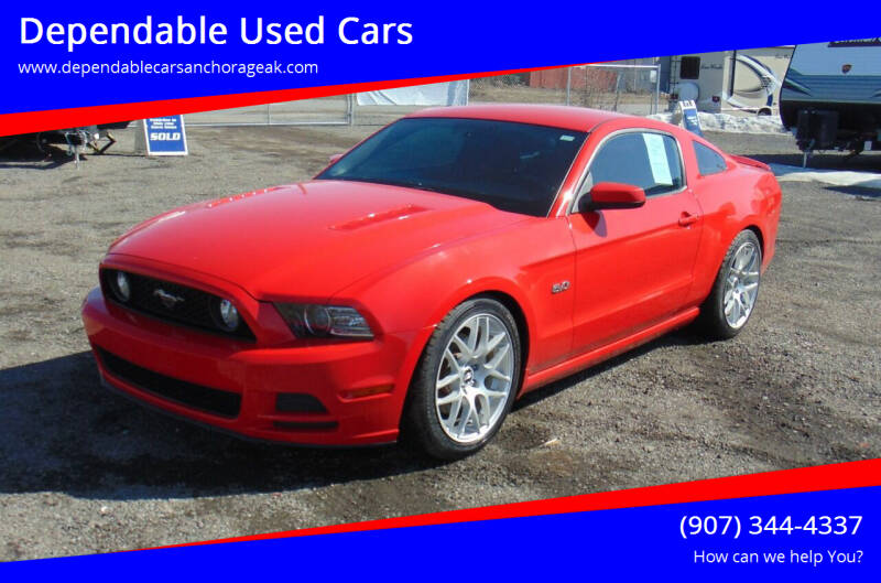 2013 Ford Mustang for sale at Dependable Used Cars in Anchorage AK