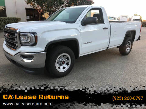 2017 GMC Sierra 1500 for sale at CA Lease Returns in Livermore CA