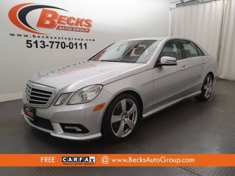 2011 Mercedes-Benz E-Class for sale at Becks Auto Group in Mason OH