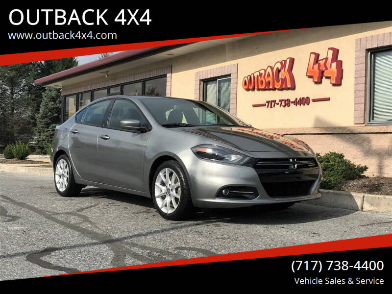 2013 Dodge Dart for sale at OUTBACK 4X4 in Ephrata PA