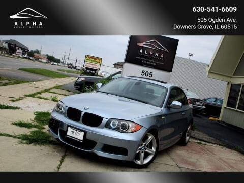 2010 BMW 1 Series for sale at Alpha Luxury Motors in Downers Grove IL