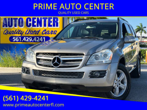 2007 Mercedes-Benz GL-Class for sale at PRIME AUTO CENTER in Palm Springs FL