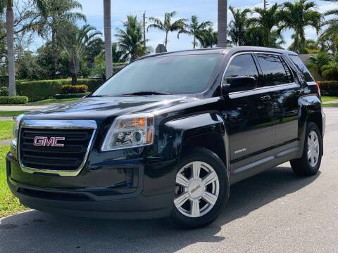 2016 GMC Terrain for sale at HIGH PERFORMANCE MOTORS in Hollywood FL