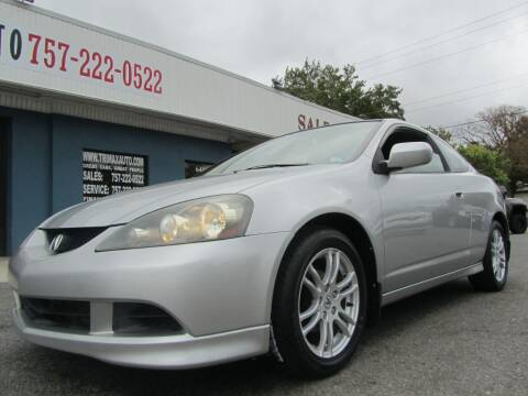 2006 Acura RSX for sale at Trimax Auto Group in Norfolk VA