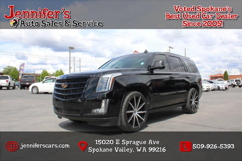 2016 Cadillac Escalade for sale at Jennifer's Auto Sales in Spokane Valley WA