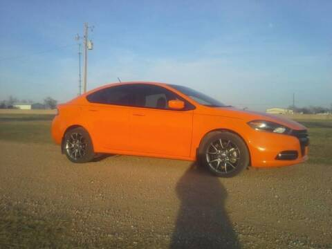 2014 Dodge Dart for sale at CAVENDER MOTORS in Van Alstyne TX