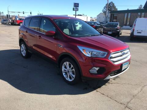 2017 Ford Escape for sale at Carney Auto Sales in Austin MN