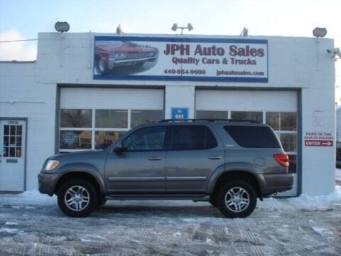 2007 Toyota Sequoia for sale at JPH Auto Sales in Eastlake OH