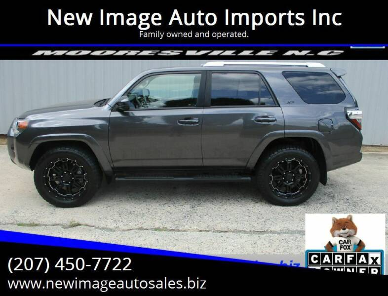 2018 Toyota 4Runner for sale at New Image Auto Imports Inc in Mooresville NC