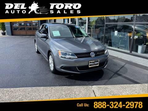 2013 Volkswagen Jetta for sale at DEL TORO AUTO SALES in Auburn WA