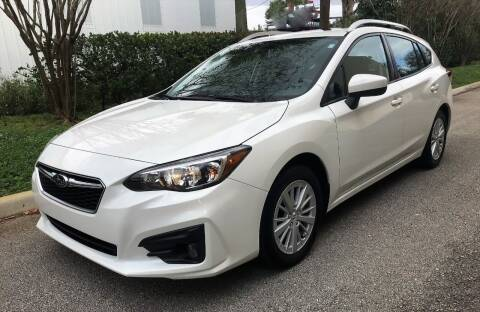 2017 Subaru Impreza for sale at DENMARK AUTO BROKERS in Riviera Beach FL