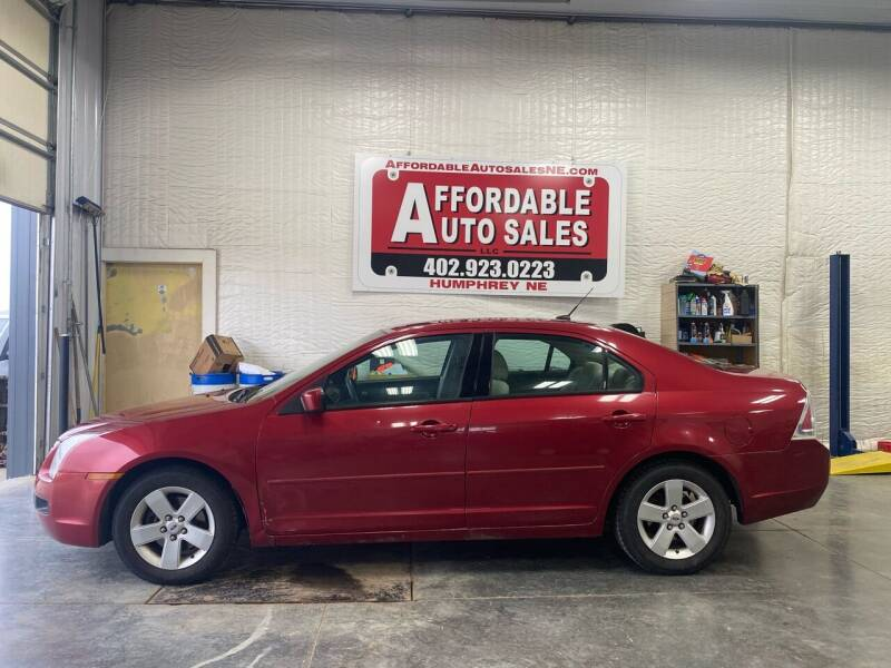 2007 Ford Fusion for sale at Affordable Auto Sales in Humphrey NE