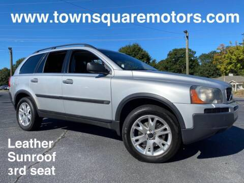 2004 Volvo XC90 for sale at Town Square Motors in Lawrenceville GA