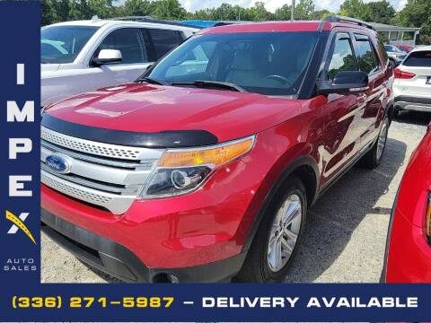 2011 Ford Explorer for sale at Impex Auto Sales in Greensboro NC