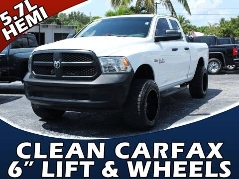 2015 RAM Ram Pickup 1500 for sale at Palm Beach Auto Wholesale in Lake Park FL