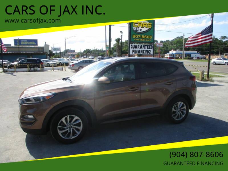 2016 Hyundai Tucson for sale at CARS OF JAX INC. in Jacksonville FL