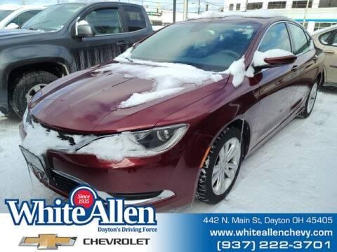 2015 Chrysler 200 for sale at WHITE-ALLEN CHEVROLET in Dayton OH