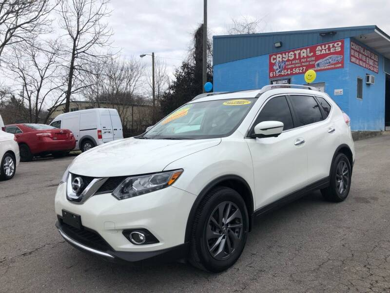 2016 Nissan Rogue for sale at Crystal Auto Sales Inc in Nashville TN