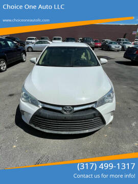2015 Toyota Camry for sale at Choice One Auto LLC in Beech Grove IN
