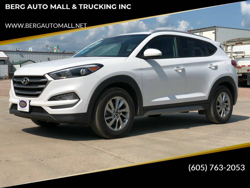 2017 Hyundai Tucson for sale at BERG AUTO MALL & TRUCKING INC in Beresford SD