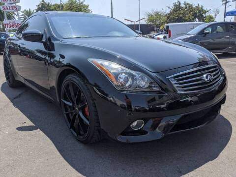 2011 Infiniti G37 Coupe for sale at Convoy Motors LLC in National City CA