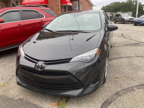 2018 Toyota Corolla for sale at Ludlow Auto Sales in Ludlow MA