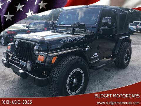 2004 Jeep Wrangler for sale at Budget Motorcars in Tampa FL