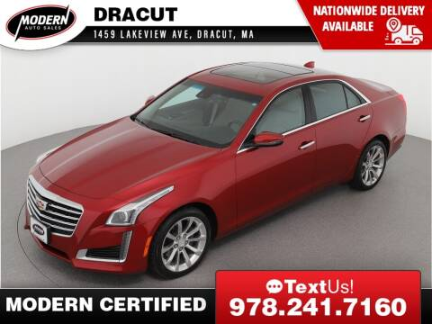 2018 Cadillac CTS for sale at Modern Auto Sales in Tyngsboro MA