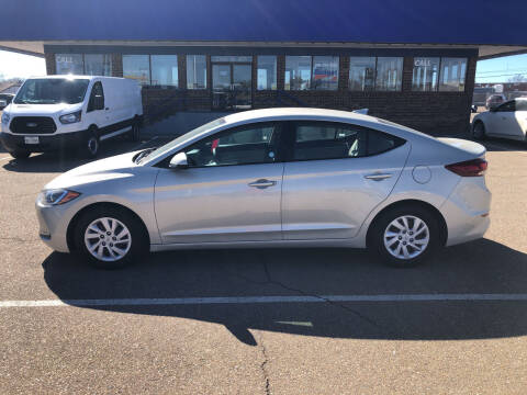 2017 Hyundai Elantra for sale at BUDGET CAR SALES in Amarillo TX