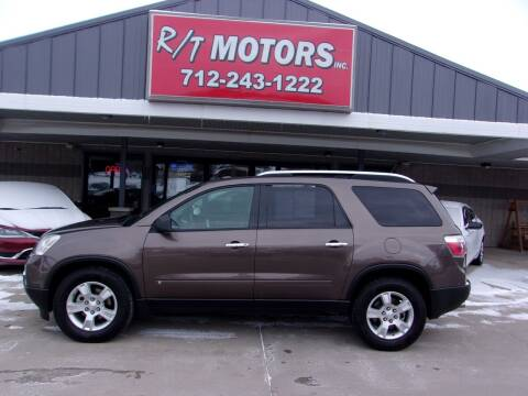 2009 GMC Acadia for sale at RT Motors Inc in Atlantic IA
